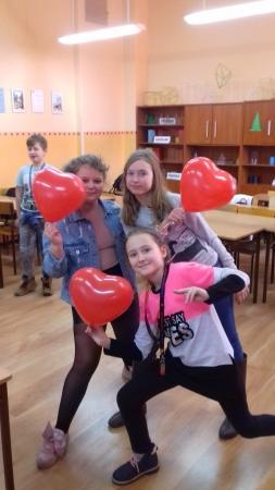 Walentynki w kl Vb
