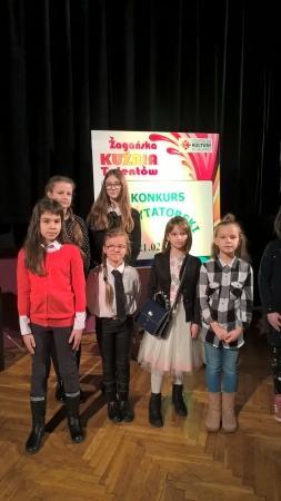 ŻAGAŃSKA KUŹNIA TALENTÓW  - konkurs recytatorski