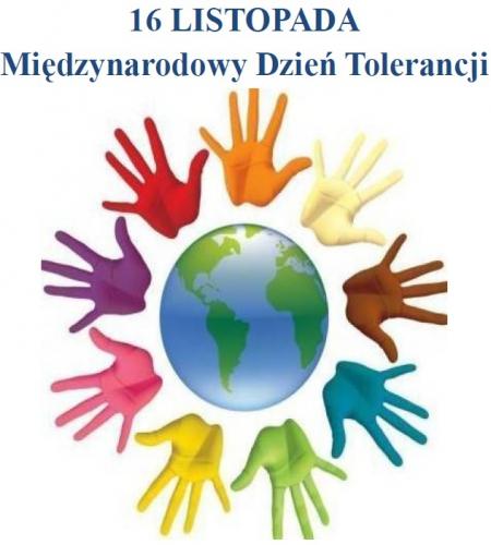 16 listopada Międzynarodowy Dzień Tolerancji