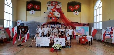 Obchody setnej rocznicy odzyskania niepodległości przez Polskę na lekcjach w-