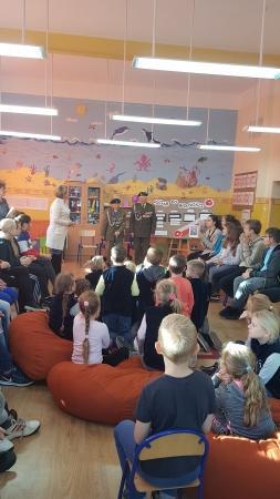 Niepodległa Polska w świetlicy szkolnej