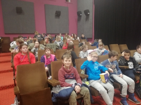 Objazdowe kino VISA w żagańskim pałacu